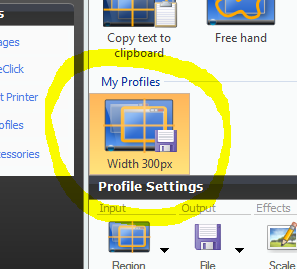 Snagit Profile Wizard 7