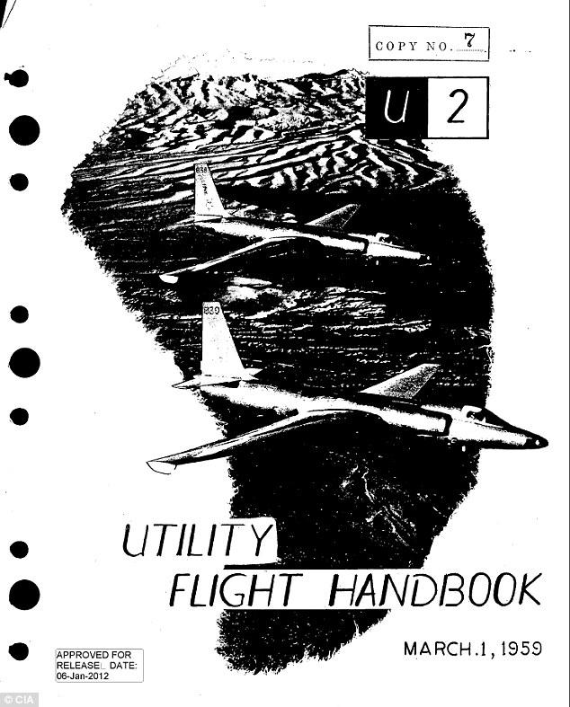 U2 Spy Plane Operator Manual Used Cartoons for Visual Communication