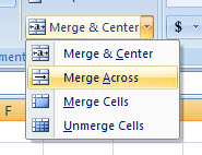 MS Excel Merge and Left or Right Justify 5