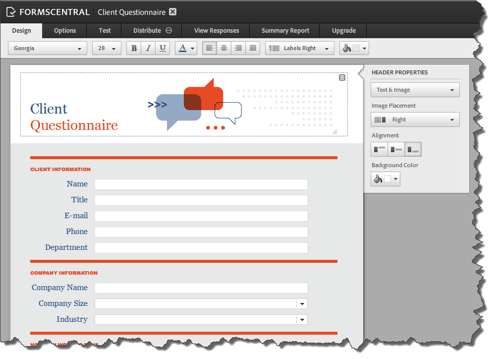 AdobeForms Central Templates 2