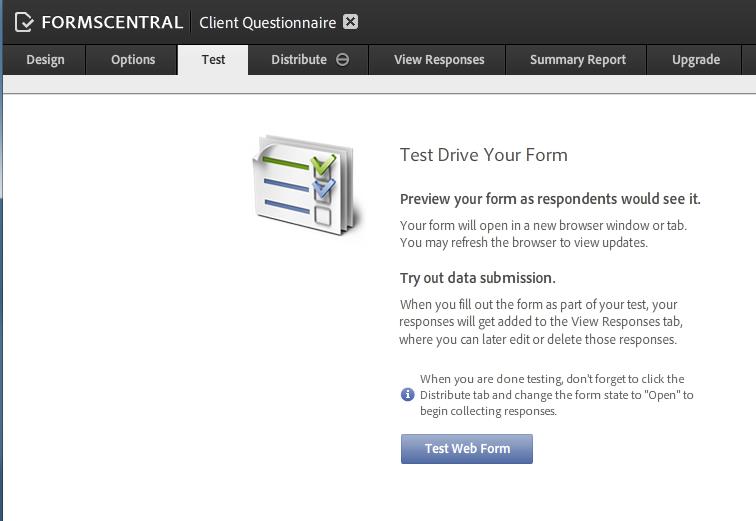 AdobeForms Central Templates 4 TEST