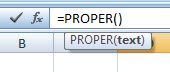 Correcting Capitalization Errors in MS Excel — How to Retype a List of Names Properly with PROPER Function 2