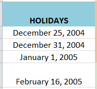 "How to Find the Workday a Specific No of Days Before of After a ""Start Date"" in MS Excel by using WORKDAY.INTL Function 2"
