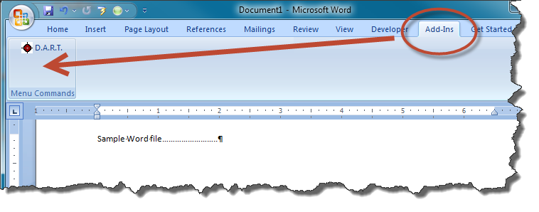 D.A.R.T. — A Powerful Macro System for MS Word Technical Documents