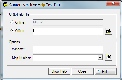 CSH Test RoboHelp COntext Sensitive Help Test Tool