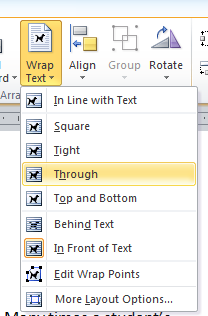 MS Word Pull-Out Quotes Insert Text Box 5