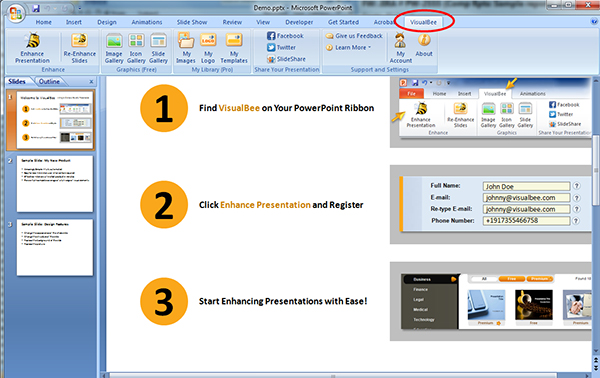 How to Enhance Your MS PowerPoint Presentations with Visual Bee