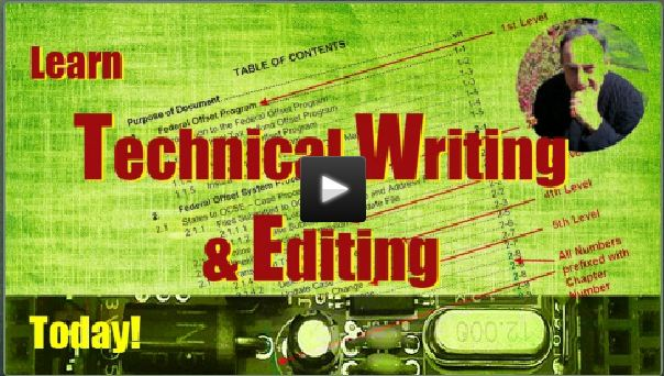 Technical Writing and Editing Online Course is Now Available!