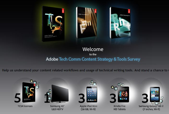 Take the Adobe Survey to Win a Valuable Prize