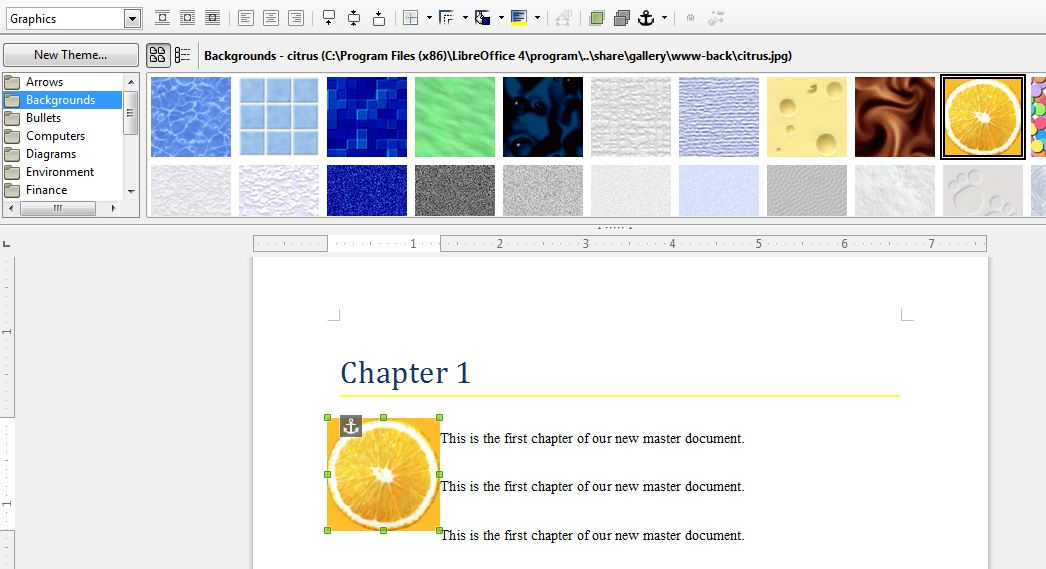 how to save a document as a pdf in libreoffice