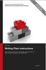 """Writing plain instructions"" by Marc Achtelig COVER"