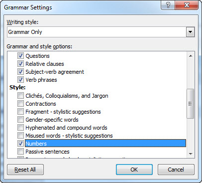 How To Remember When To Spell Out Numbers In Ms Word Technical