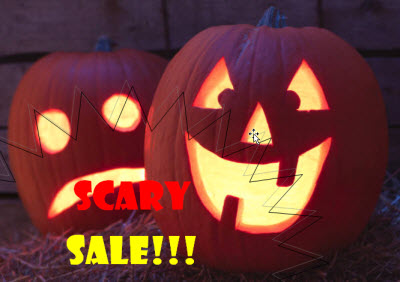 SCARY SALE