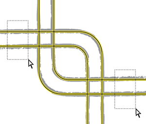 How to Draw Criss-Cross Circuit Wires with Adobe Illustrator 3