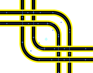 How to Draw Criss-Cross Circuit Wires with Adobe Illustrator 5