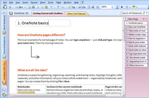 OneNote: The Secret Microsoft Office Program
