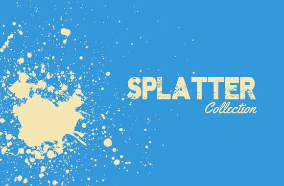GRAPHIC DESIGN: Vector Splatter Collection — FREE for today