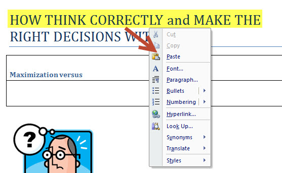 How to Display Dynamic Pop-Up Menus in MS Word 2007