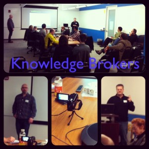 "STC WDCB's ""Knowledge Brokerage"" Presentation by Ward and Aschwanden a Success!"