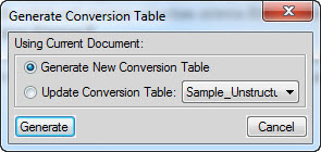 How to Create a Structured FrameMaker 12 Document from an Unstructured FM Document by using a Conversion Table