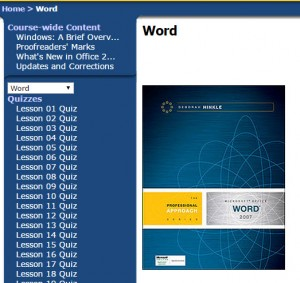 Exceptional Free Web Sites for MS Word 2007 and 2010 Certification Quizzes