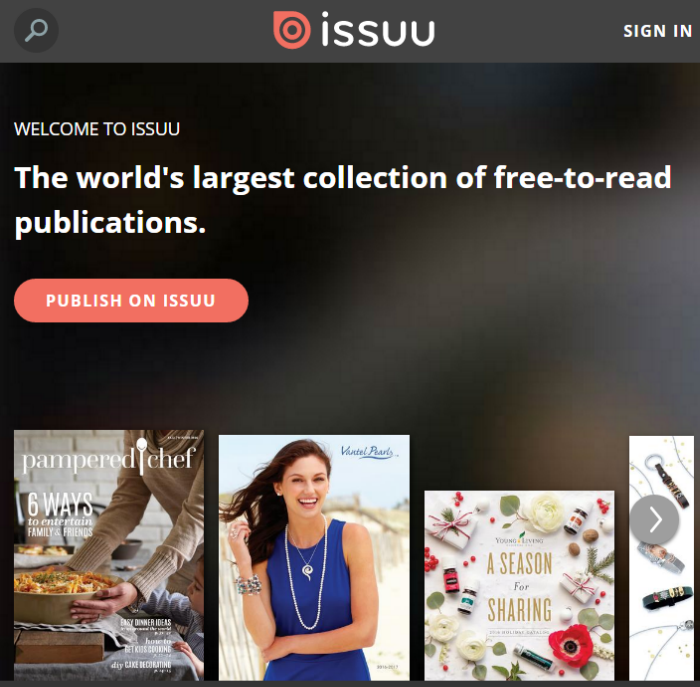 An Amazing and FREE Source of Magazines and Periodicals — ISSUU