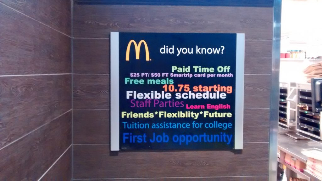 The Good News About McDonald's Typo