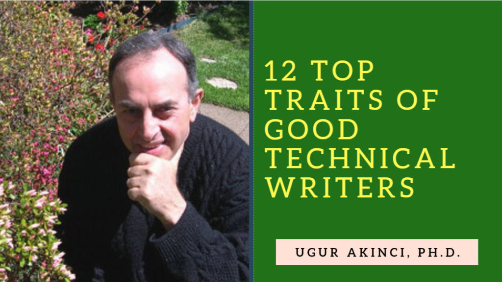 12 Top Traits of Good Technical Writer