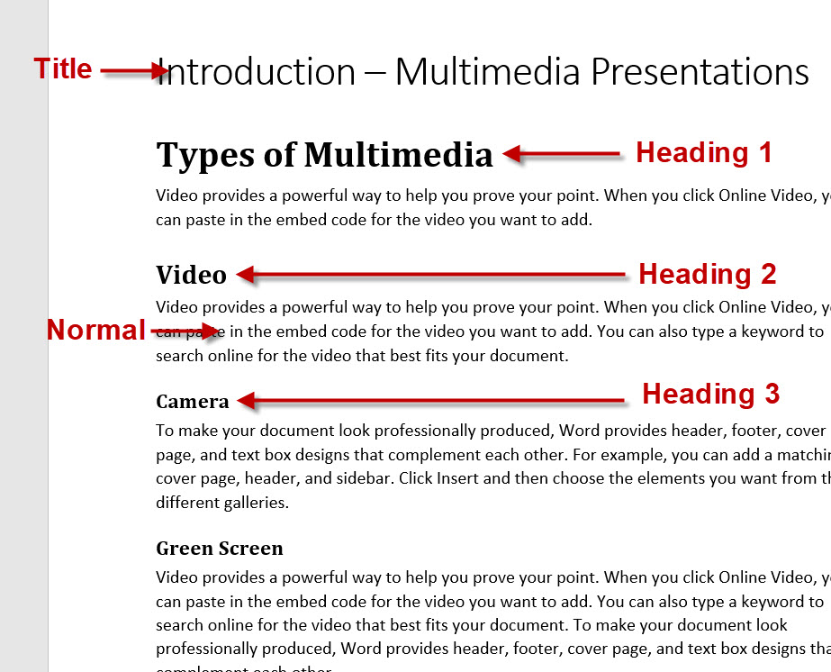 How to Create PowerPoint Presentation Automatically from a MS Word Outline